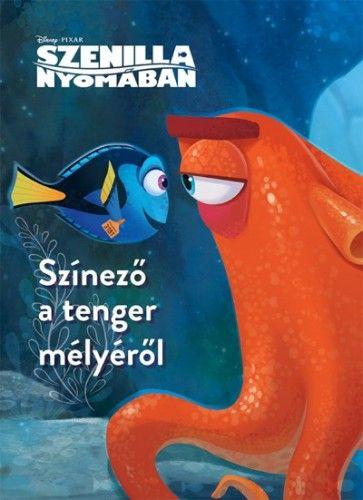 Disney - Szenilla nyomában - Színező a tenger mélyéről