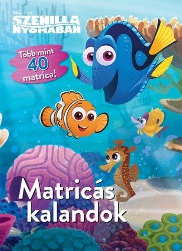 Disney - Szenilla nyomában - Matricás kalandok