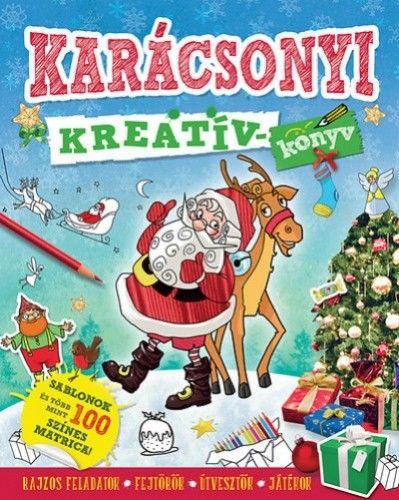 Karácsonyi kreatívkönyv - Andrea Pinnington |