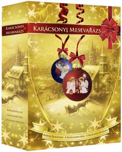Karácsonyi mesevarázs díszdoboz (3 DVD)