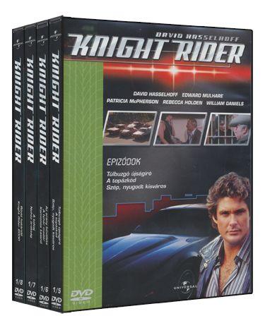 Több rendező - Knight Rider - 1. évad / 2. doboz (4 DVD)