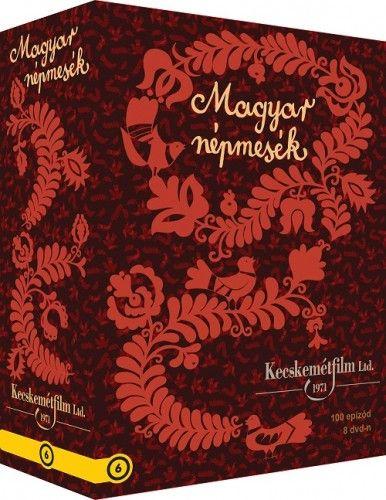 Magyar Népmesék díszdoboz (8 DVD)