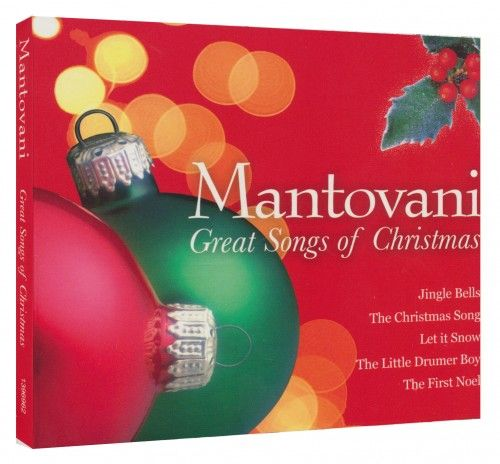 Több előadó - Mantovani - Great Songs of Christmas-CD