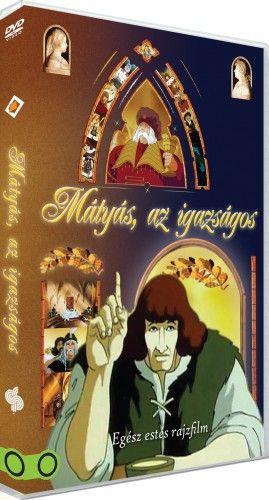 Mátyás, az igazságos - egész estés rajzfilm - DVD