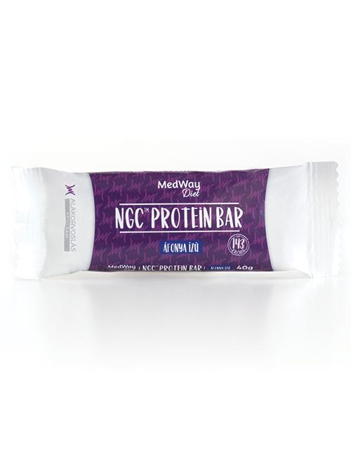 MedWay Diet protein szelet - áfonya ízű