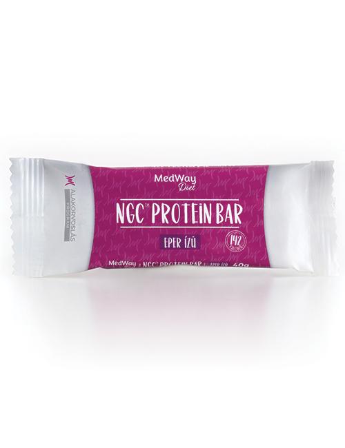 MedWay Diet protein szelet - eper ízű