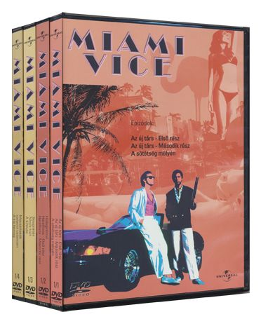 Több rendező - Miami Vice - 1. évad / 1. doboz (4 DVD)