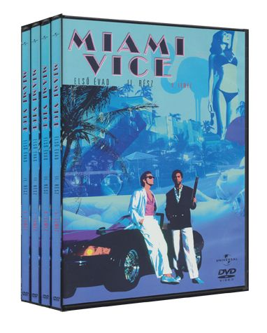 Több rendező - Miami Vice - 1. évad / 2. doboz (4 DVD)
