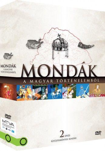 Jankovics Marcell - Mondák a magyar történelemből díszdoboz (2 DVD)