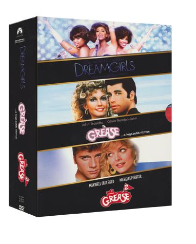 Musical Boxset (Grease 1-2, Dreamgirlst / 3 DVD)
