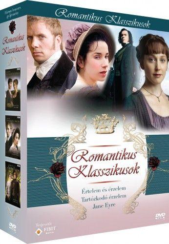 Romantikus klasszikusok díszdoboz (3 DVD)