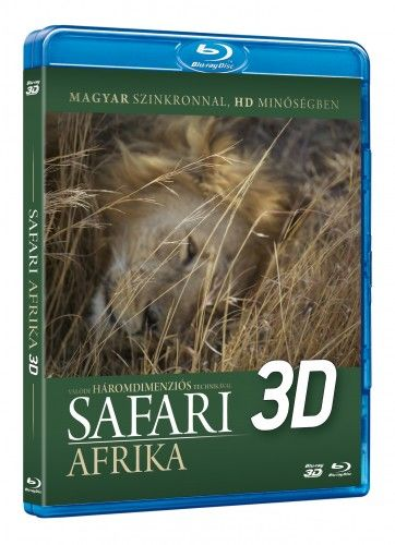 Safari 3D Blu-Ray