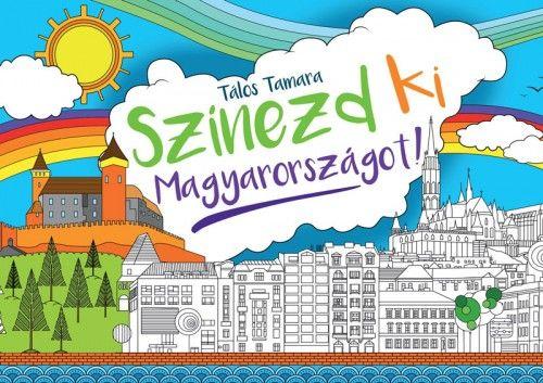 Színezd ki Magyarországot! - különkiadás