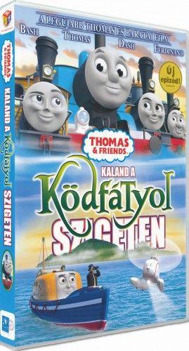 Thomas, a gőzmozdony - Kaland a Ködfátyol szigeten - DVD