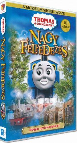 Thomas, a gőzmozdony - A nagy felfedezés - DVD