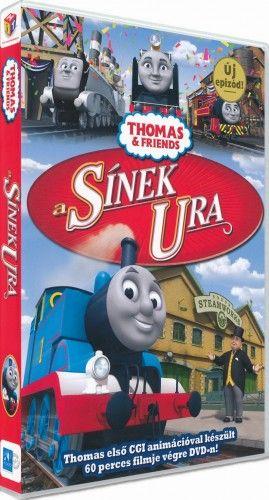Thomas, a gőzmozdony - A sínek ura - DVD