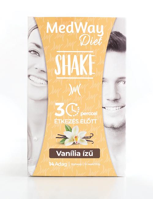 MedWay Diet Shake - Vanília ízű