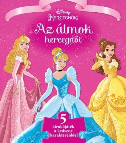 Szivacsos kirakós könyv - Az álmok hercegnői