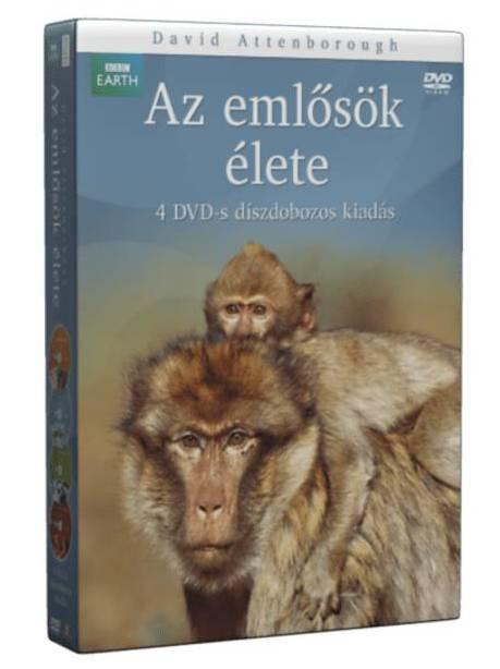 BBC Emlősök élete díszdoboz - DVD