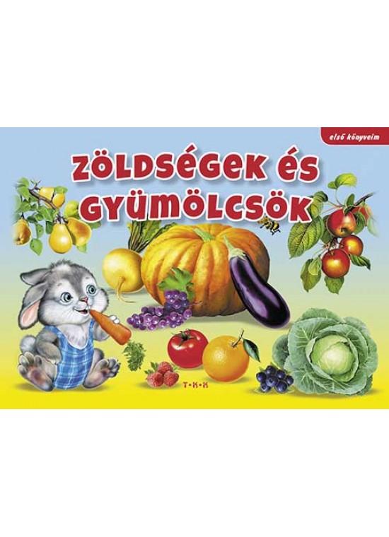 Zöldségek- Első könyveim sorozat