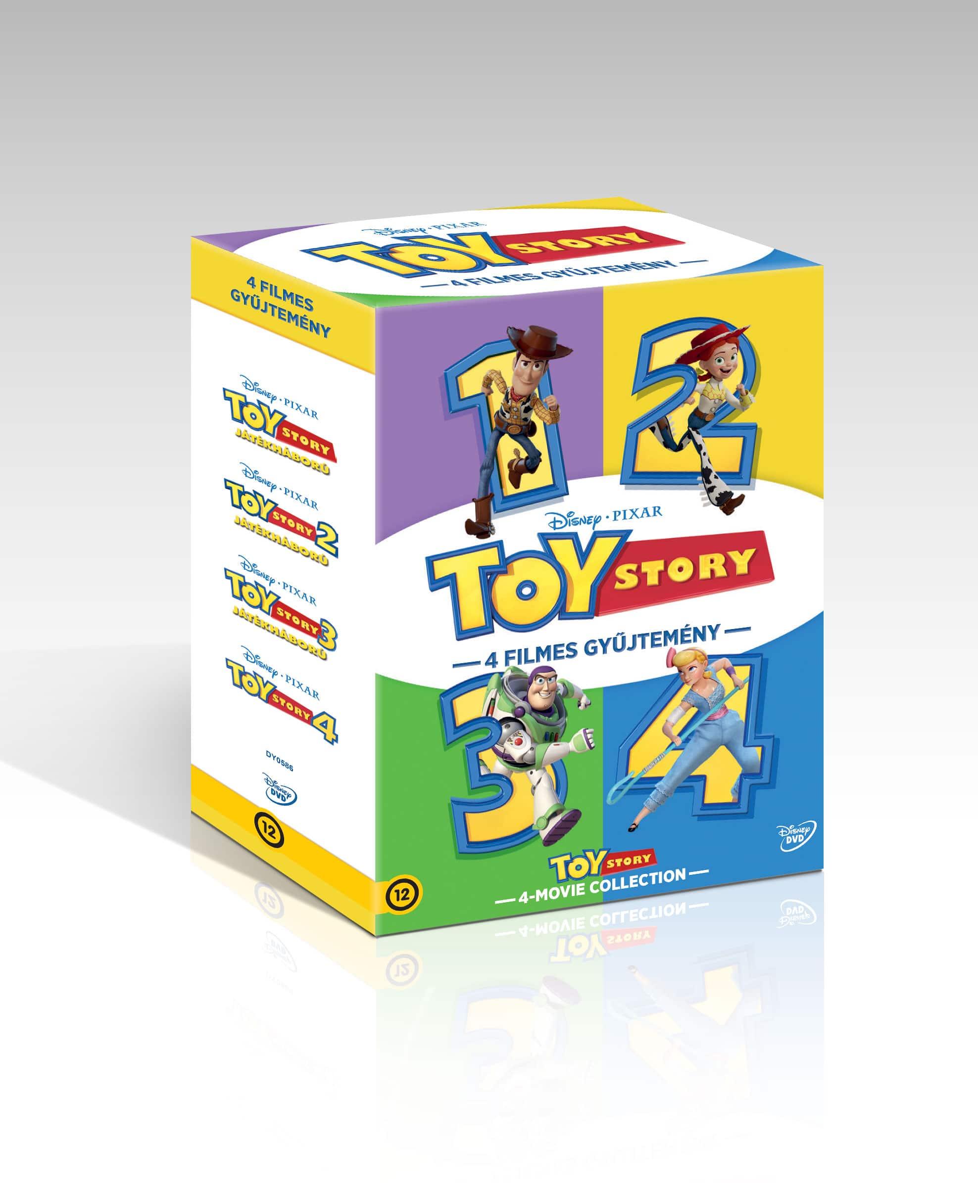 Toy Story 1-4. gyűjtemény - DVD