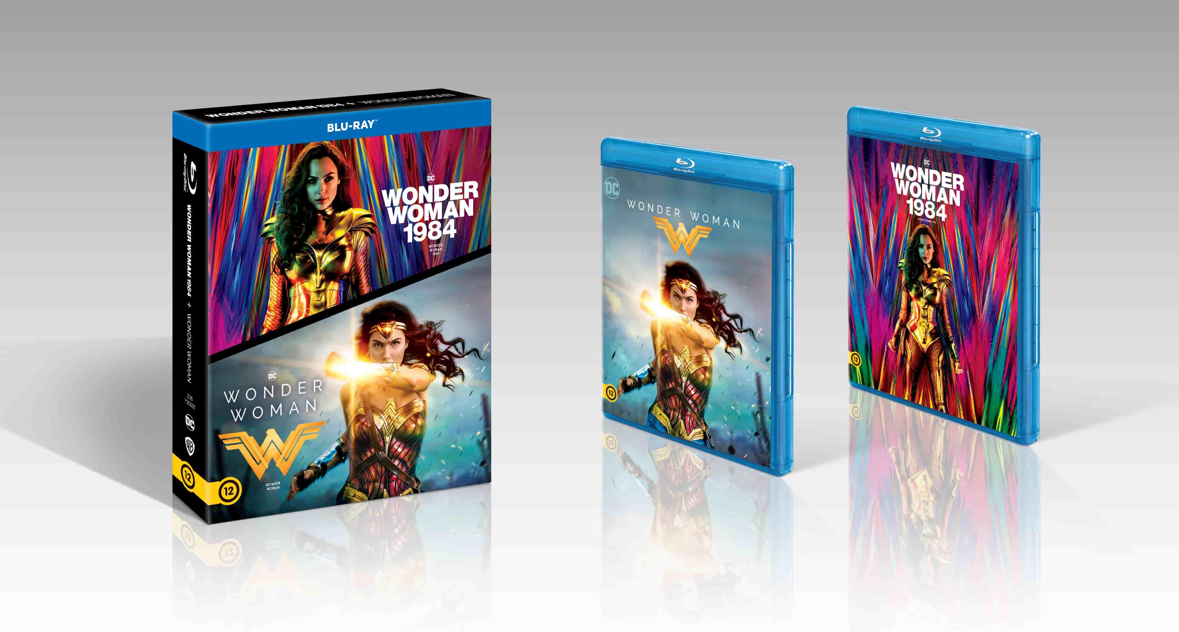 Wonder Woman 1-2. - Blu-ray