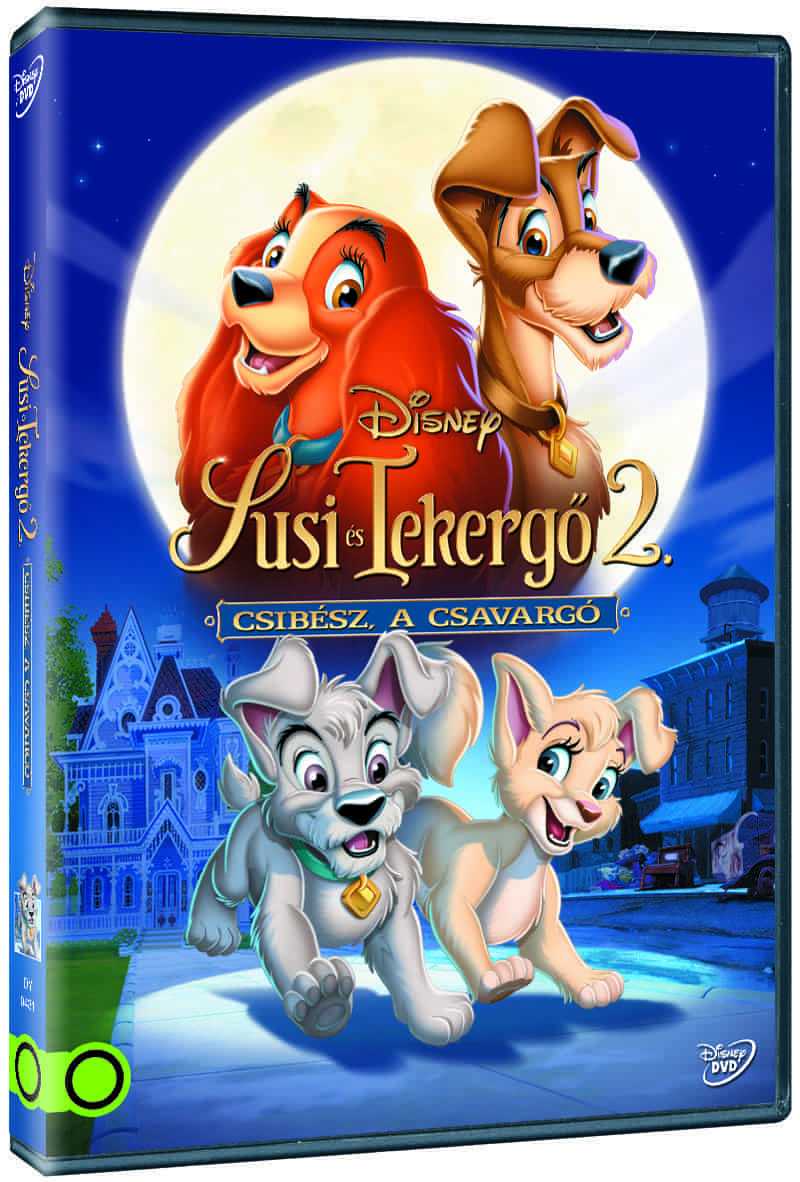 Susi és Tekergő 2: Csibész, a csavargó (új kiadás) - DVD