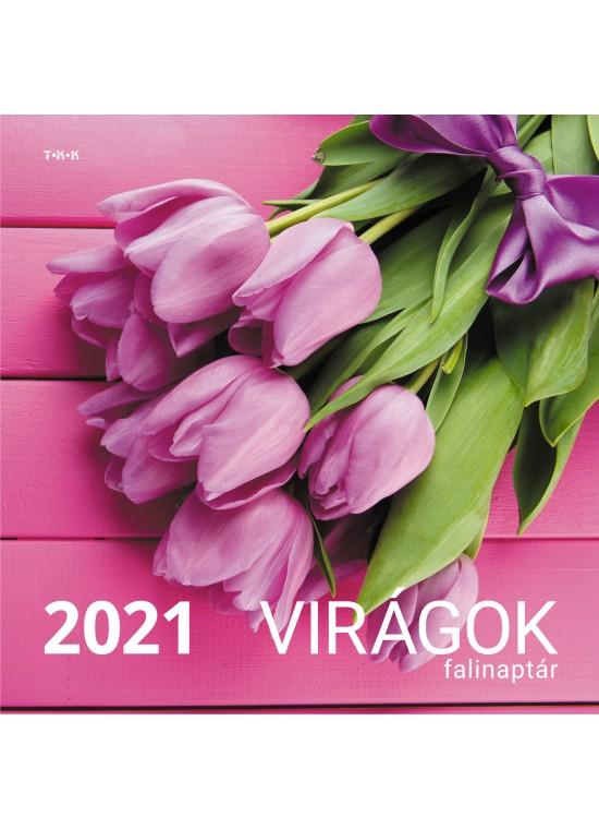Virágok falinaptár - 2021
