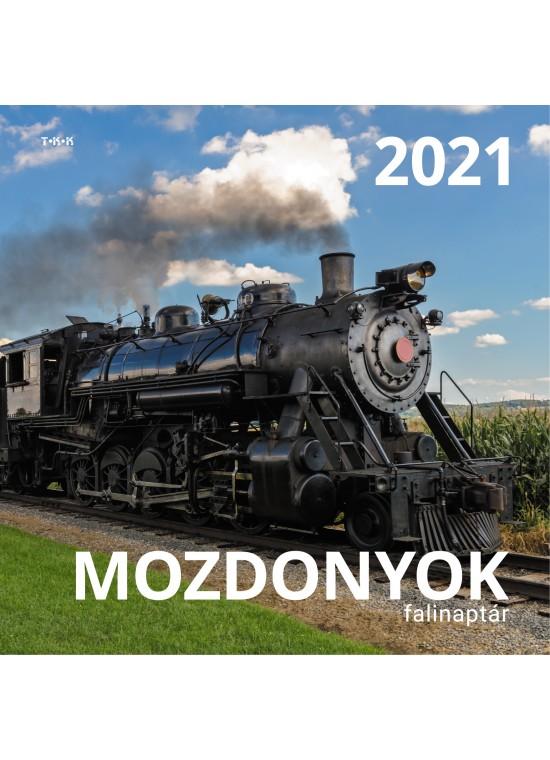 Mozdonyok falinaptár - 2021
