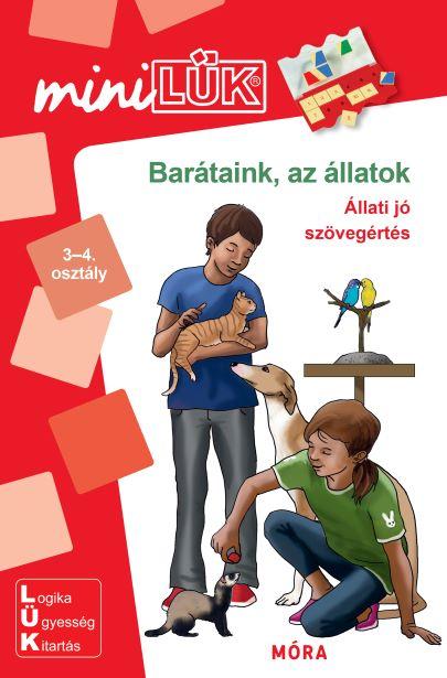 Barátaink az állatok - Állati jó szövegértés - 3-4. osztály