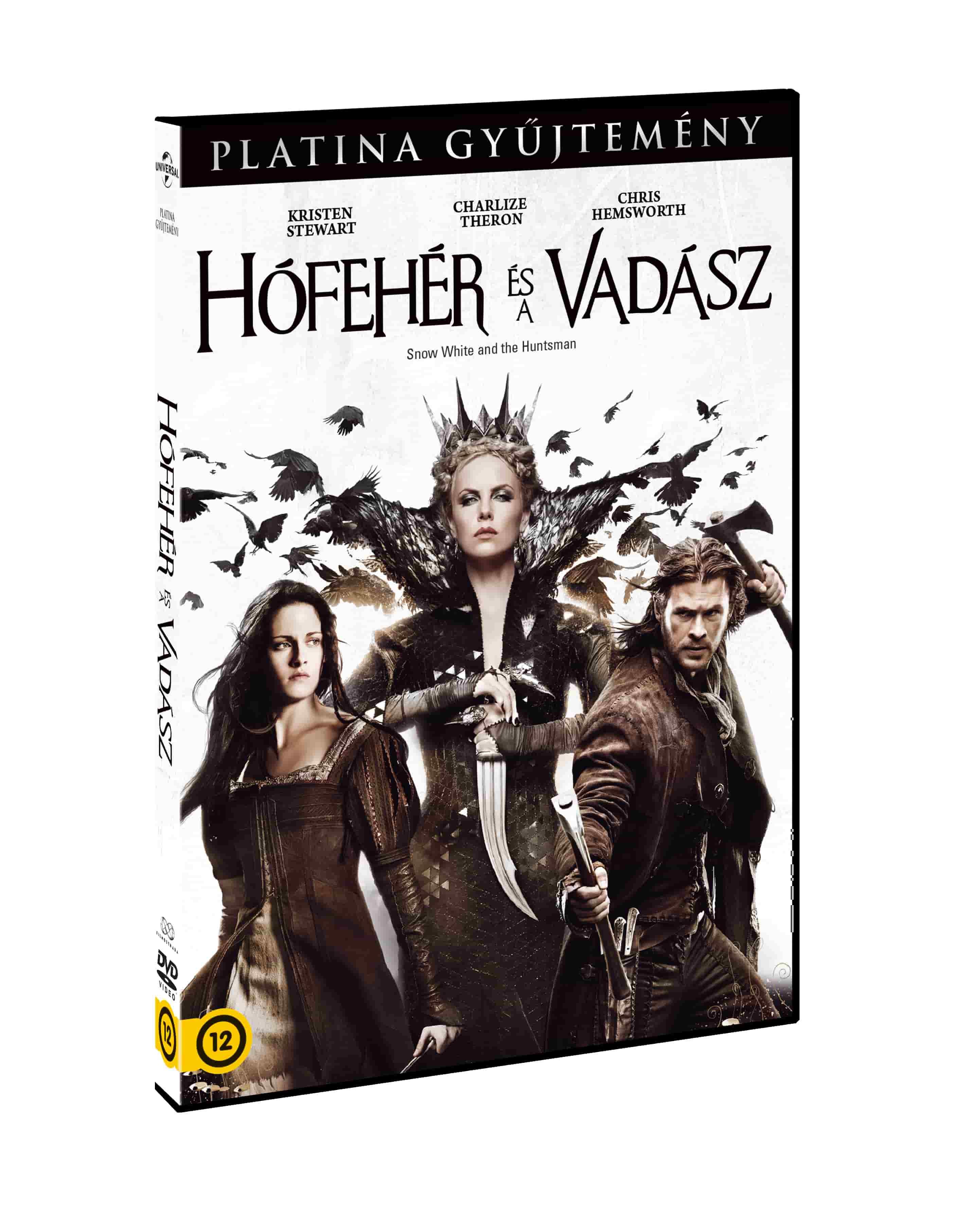 Hófehér és a vadász (platina gyűjtemény) - DVD