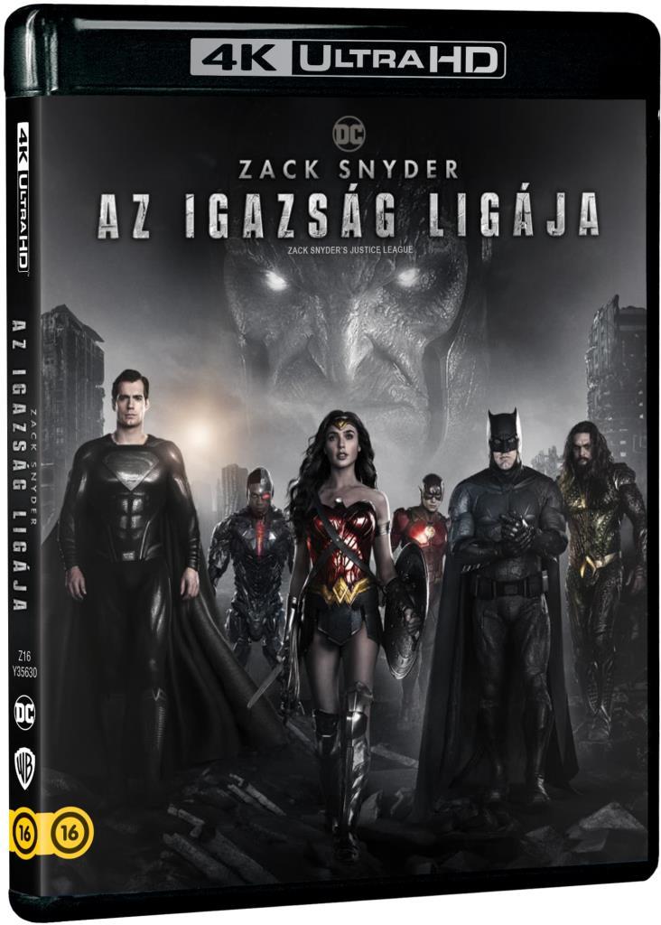 Zack Snyder: Az Igazság Ligája (2021) (2 UHD)