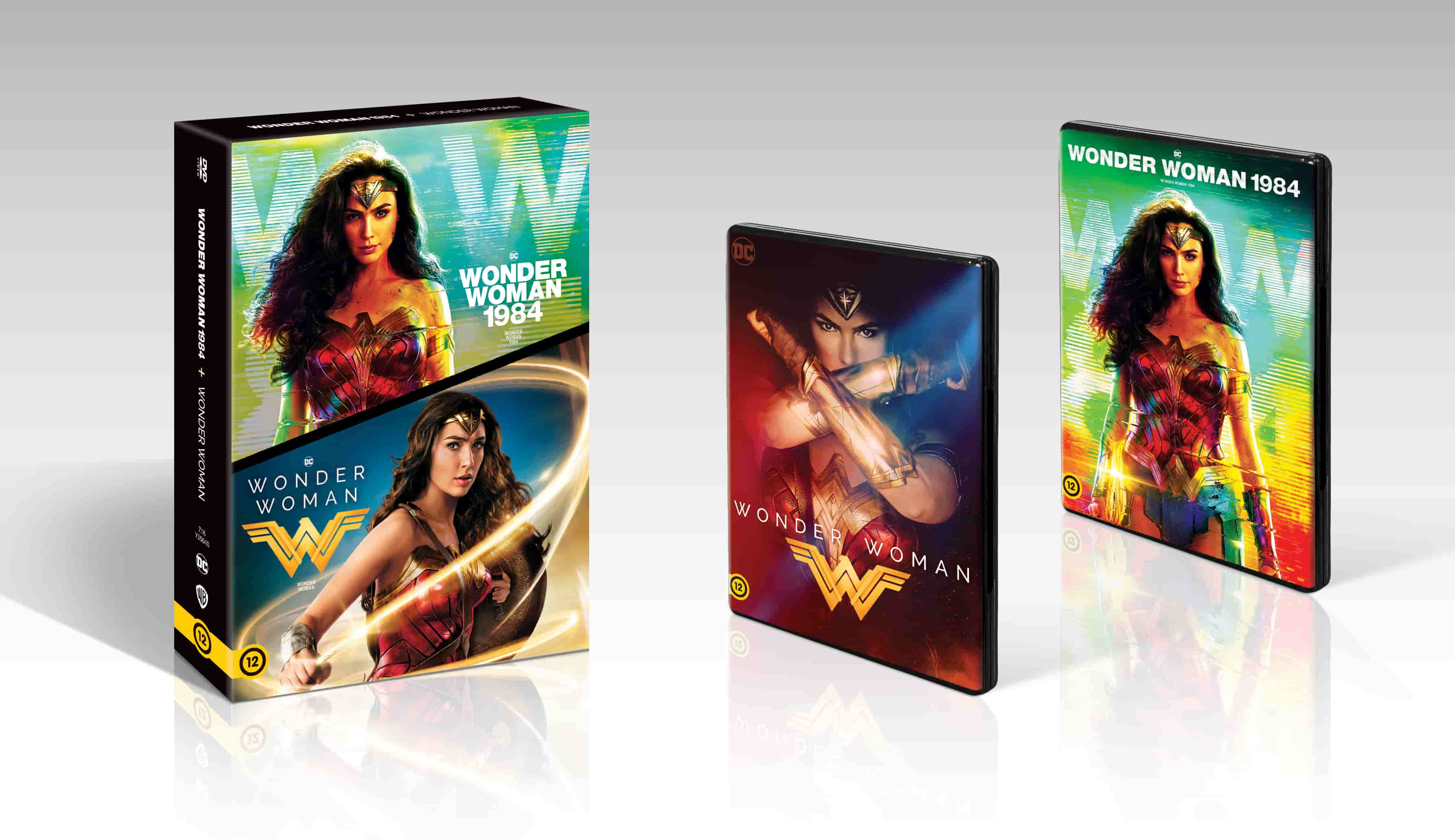 Wonder Woman 1-2. - DVD