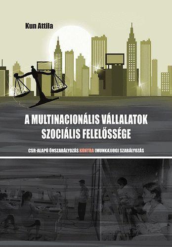 A multinacionális vállalatok szociális felelőssége -  pdf epub