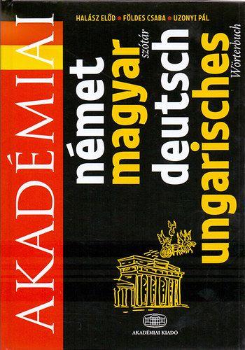 Akadémiai Német-magyar szótár - deutsch-ungarisches wörterbuch