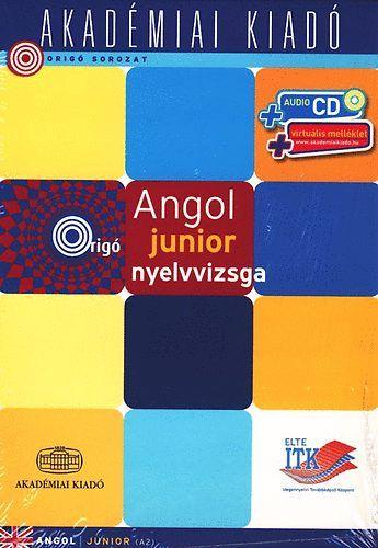 Angol junior nyelvvizsga (audio CD + virtuális melléklettel)