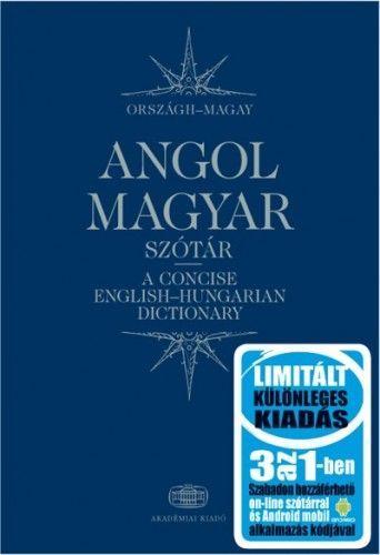Magyar-angol szótár 3 az 1-ben
