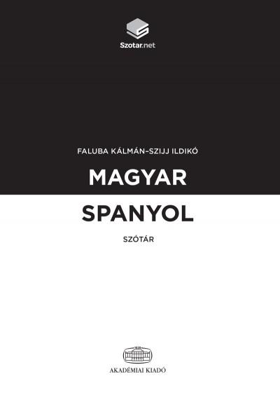 Magyar-spanyol szótár + online szótárcsomag