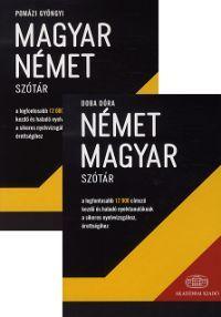 Német-magyar, magyar-német szótár