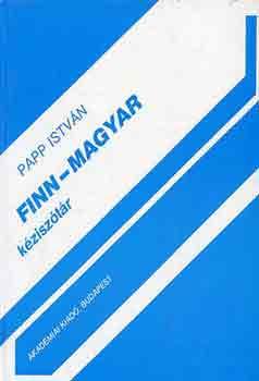 Finn-magyar kéziszótár