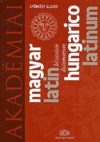 Magyar - latin kéziszótár