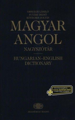 Magyar-angol nagyszótár+NET