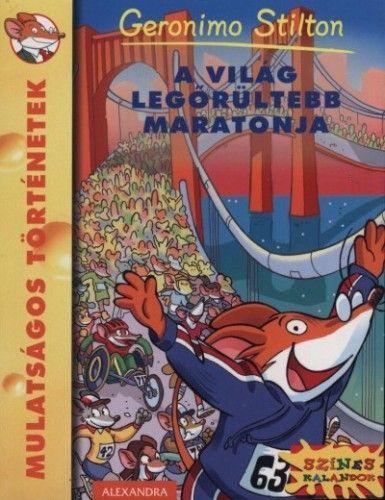 Geronimo Stilton - A világ legőrültebb maratonja