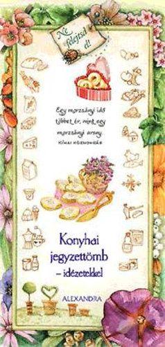 Konyhai jegyzettömb - idézetekkel (rózsaszín) -  pdf epub