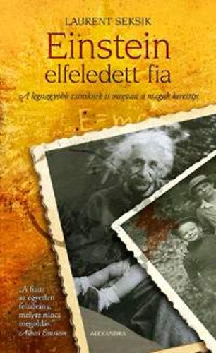 Einstein elfeledett fia - Laurent Seksik pdf epub