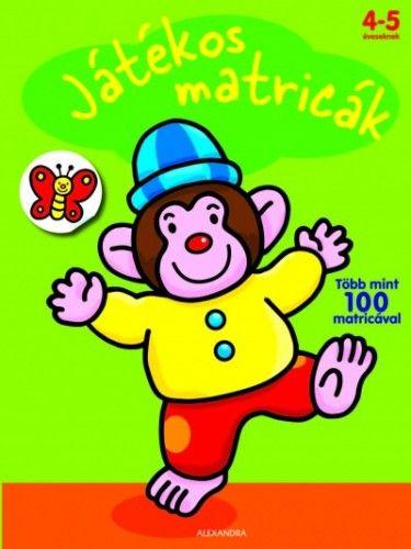 Játékos matricák - Majom