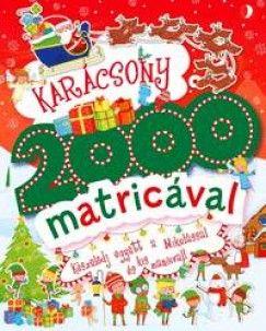 Karácsony 2000 matricával - Készülődj együtt a Mikulással és kis manóival - Rachel Gippetti |