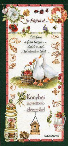 Konyhai jegyzettömb - idézetekkel (zöld) - Giulia Pianigiani  