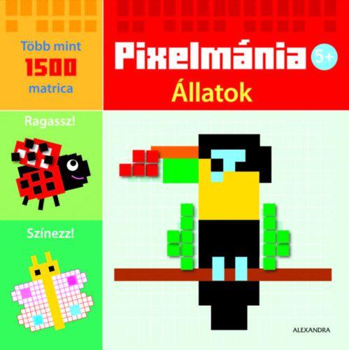 Pixelmánia-Állatok -  pdf epub
