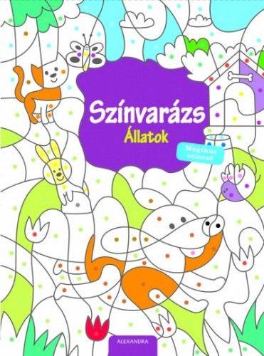 Színvarázs - Állatok - Mágikus színező -  pdf epub